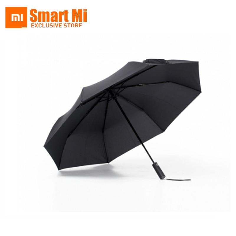 Xiaomi Mijia Entièrement Automatique Ensoleillé Rainy Hommes Femmes En Aluminium Coupe-Vent D'été D'hiver Xiaomi Mijia