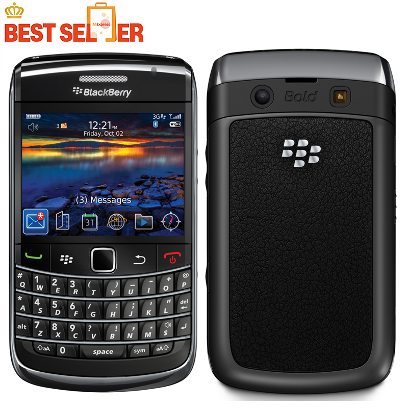 9700 Unlocked Phone Blackberry 9700 Smartphone 3G WIFI Bluetooth GPS Mobile Phone