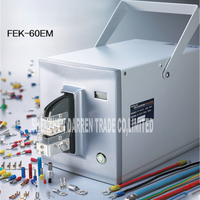FEK 60EM Type Electric Crimper Tools Bending Machine Several Terminals Cable Electric Wire Crimp Tool Electric