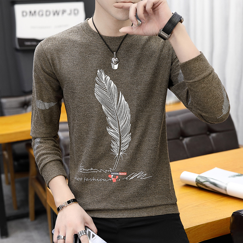 Cheap Wholesale 2019 New Autumn Winter Hot Selling Men's Fashion  Casual  Nice Tops MW334