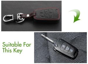 Image 2 - אמיתי leathe מפתח מקרה מפתח תיק מפתח כיסוי עבור Kia KX3 KX5 K3S ריו ריו 4 Ceed Cerato אופטימה K5 sportage נשמת סורנטו רכב סטיילינג