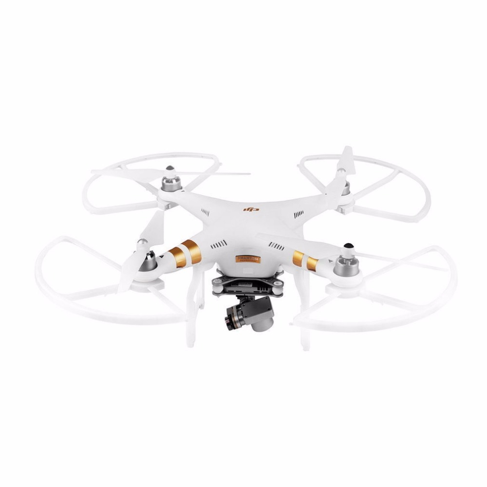 4pcs Snap on Quick Release Propeller Guard Blade Bumper Props Protector for DJI Phantom 3 Phantom 2 Drone Spare Parts White