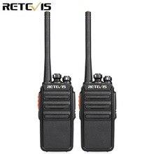 2 stücke Retevis H777S Walkie Talkie 2W FRS VOX UHF Handlichen Zwei weg Radio Station Tragbare Transceiver Radio comunicador Transceiver