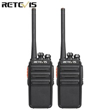 2pcs Retevis H777S Walkie Talkie Radio 2W FRS UHF Radio Station VOX Scan Two Way Radio Portable HF Transceiver