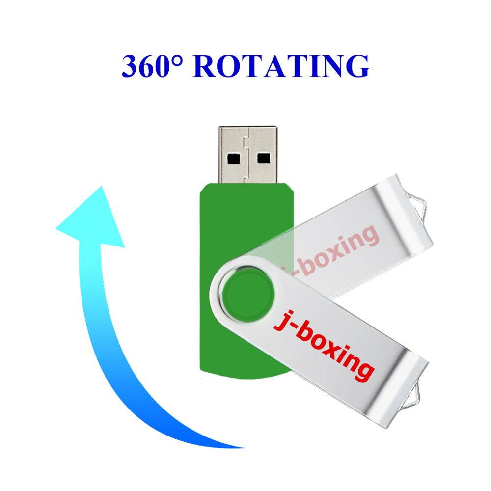 Image 4 - J boxing USB Storage Flash Drives 64MB 128MB Small Capacity Pendrive 256MB 512MB Metal Thumb Drives USB 2.0 Memory Green 10PCS-in USB Flash Drives from Computer & Office