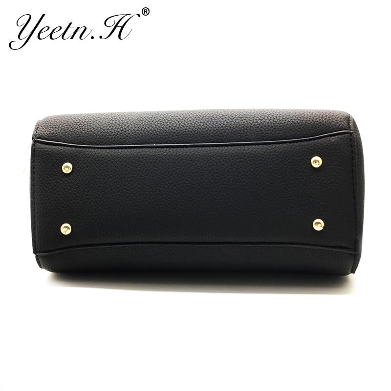 Yeetn.H New Arrival Woman Bag Fashion Handbag Shoulder Bag Classic PU - Beg tangan - Foto 5