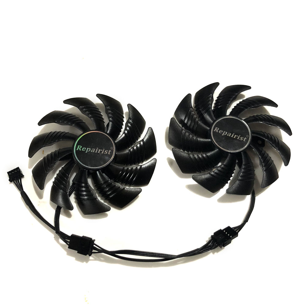 AORUS RX580/570 GPU Cooler Graphics card fan for REDEON GIGABYTE GV-RX570AORUS GVRX580AORUS As Replacement цена