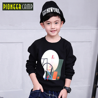 New Brand Spring Boy S Fleece Children S Clothing Mountains Round Collar Fleece Free Shipping