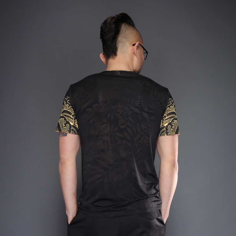 Retro Chinese Qing Dynasty Dragon T-Shirt 4