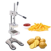 ITOP Vertical Potato Chip Press Machine French Fry Cutter Fruit Apple Vegetable Salad Slicer Commercial Kitchen Potato Slicer цена и фото