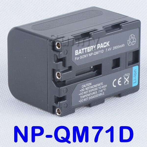 NP-QM71D Battery (4 Cells)