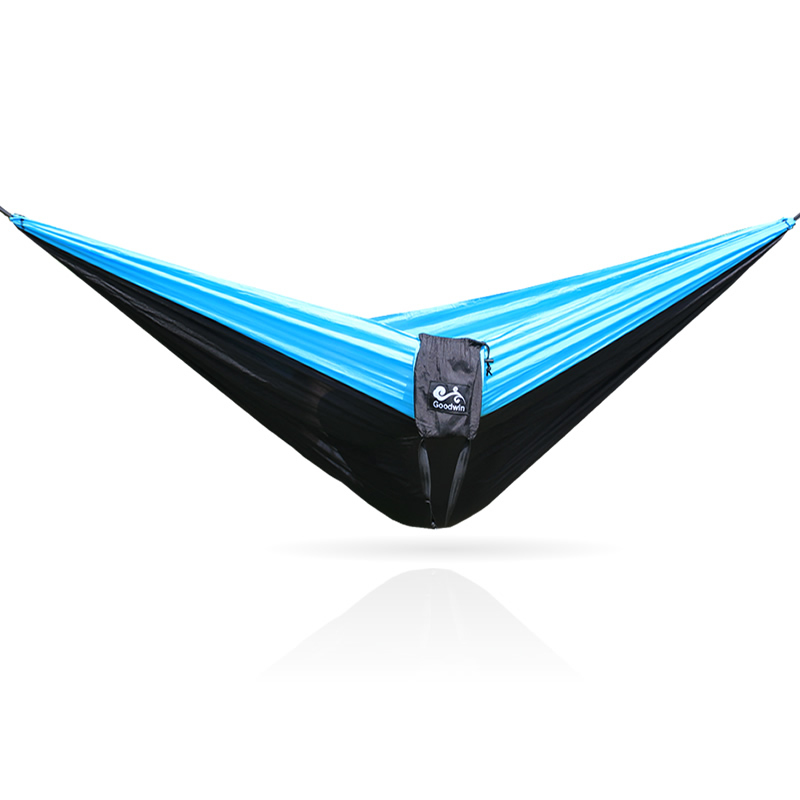 Image 3 - 328 Promotion  320*200cm Large Size Hammock For 2 With   Carabiners For Outdoor Camping Sleeping Hanging Bed Hamak-in Hammocks from Furniture