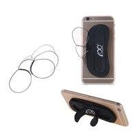 AB itibaren gemi Erkekler Burun Klipsi Gözlük Ince Taşınabilir Okuma Telefon Standları ile gözlük Gözlük Durumda Mini Cep Pince Nez optik