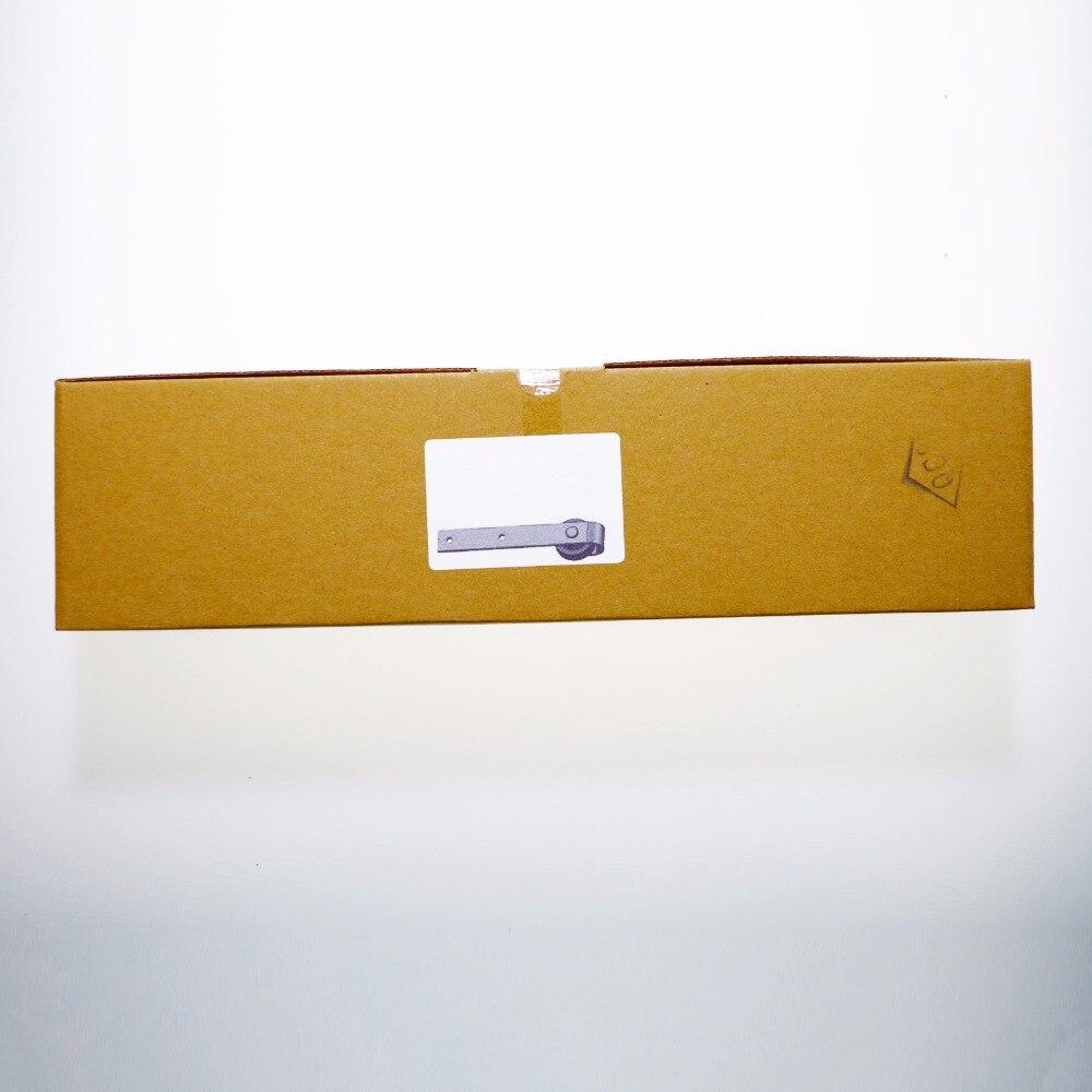 LWZH 4ft 5ft 6ft 7ft 8ft 9ft Kit de quincaillerie de porte coulissante en bois de Style Antique pour porte simple - 6