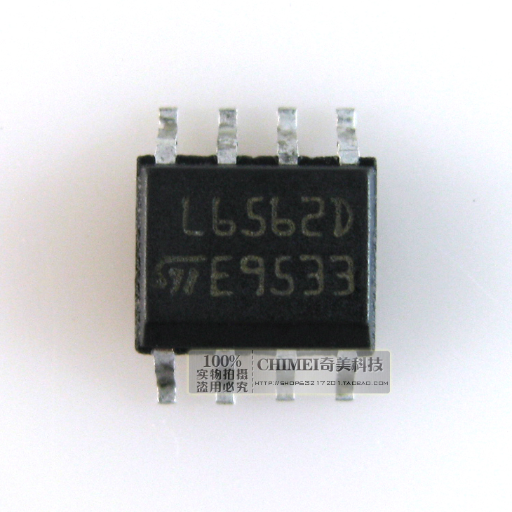 100PCS L6562D SOP8 L6562  factor correction - PFC Trans PFC Mode Cont New original free shipping