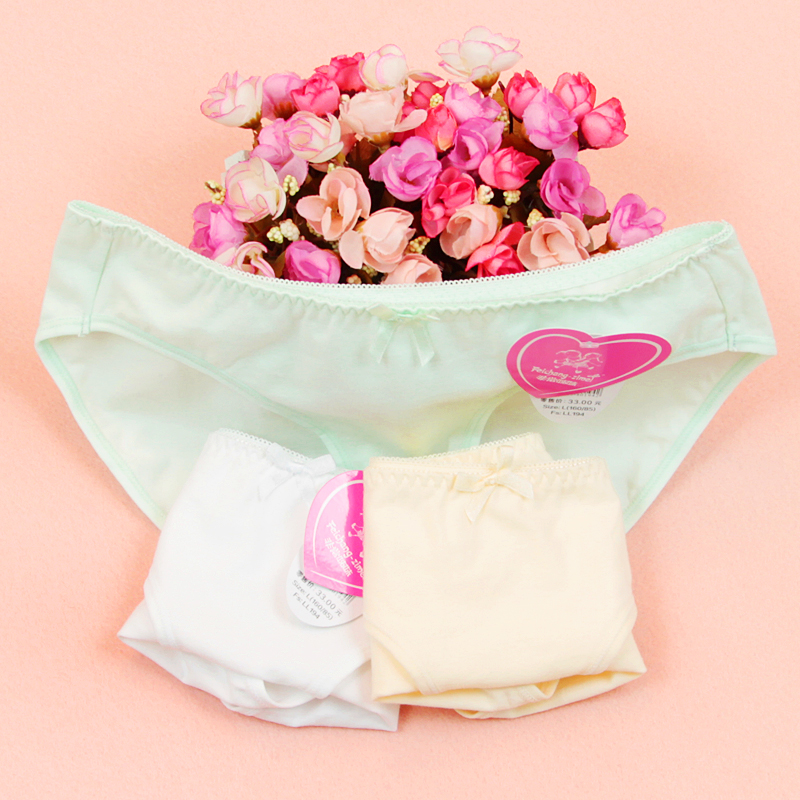 8ae09a949c06 Free shipping 2pcs/lot 2016 Feichangzimei Teenage Girl Underwear Cotton  Panties for Young girls LL194 Y-in Panties from Mother & Kids on  Aliexpress.com ...