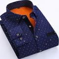 Mens Plaid Shirts Warm Winter Fleece Inside Winter Dress Shirt for Men Asian Size M-4XL 50
