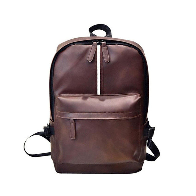 8c32fa2dc4dc xiniu Men s Women s Leather Backpack Laptop Satchel Travel School Rucksack  bags for women 2018 mochila escolar feminina