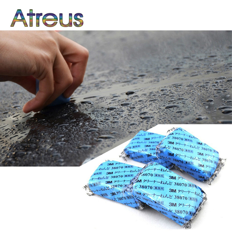 2Pcs Car Styling Car Wash Mud Decontamination Accessories for Renault Chevrolet cruze Opel astra h Nissan Juke Peugeot 307 308