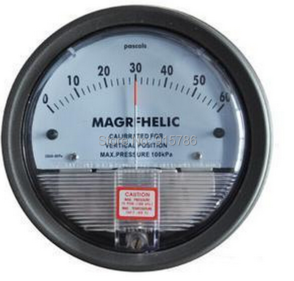 0 3kpa differential pressure gauge micro pressure gauge high precision 1 8 NPT air pressure meter