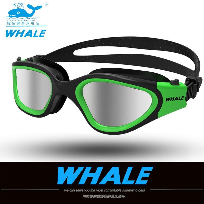 Água óculos profissionais óculos de natação óculos de Adultos À Prova D' Água de natação uv anti nevoeiro óculos oculos espelhado ajustáveis óculos de piscina