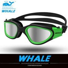 水メガネプロの水泳ゴーグル大人防水水泳uvアンチフォグ調節可能なメガネoculos espelhadoプールメガネ