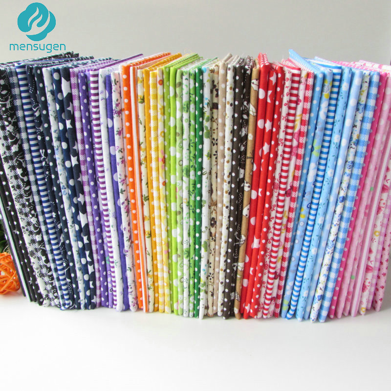 56pcs/lot 25cm*25cm No Repeat Design Printed Floral Cotton Fabric For Patchwork, Sewing Tissue, Tilda Cloth craft