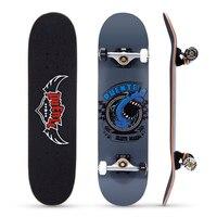 PUENTE 608 ABEC 9 Adult Four wheel Skate Board Double Snubby Maple Skateboard Long Board 4 Colors