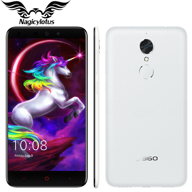 Original 360 N4 4G LTE Mobile Phone 5.5 inch 4GB RAM 32GB ROM MTK Helio X20 Deca Core 2.0GHz 13MP 3080mAh battery Fingerprint