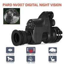 PARD NV007 5 Вт ИК инфракрасный цифровой ночного видения телескоп Wifi приложение 1080 P HD NV Riflescope ночного видения Оптика зрение Лидер продаж