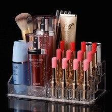 Beautician transparent mac makeup storage box multi-layer acrylic cosmetic storage box lipstick nail polish tool finishing box
