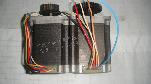 Used StepSyn Sanyo 2-phase 57 series stepper motorUsed StepSyn Sanyo 2-phase 57 series stepper motor