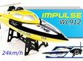 Wltoys WL912 4CH alta velocidad RC Racing barco 24 km/h RTF 2.4 GHz de Control remoto Racing Boat