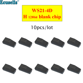 10PCS/LOT WS21-4D chip 128bit blank H chip 128 Bit for Toyota Rav4 Camry Corolla 2013-2015