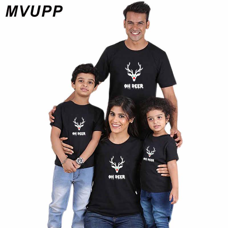 efc12324b ... Familia t camisa Navidad ropa para la Madre Padre hija hijo mamá y bebé  trajes ropa ...
