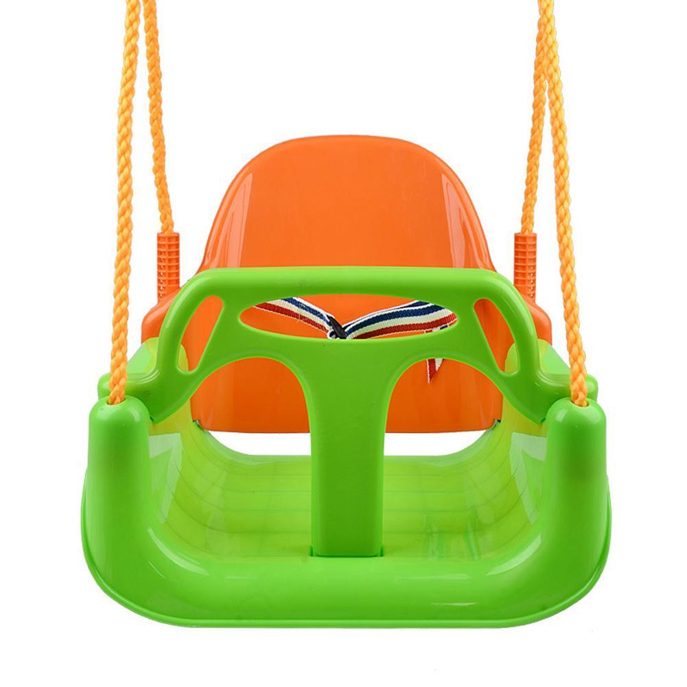 3 In 1 Toddler Swing Seat Detachable Outdoor Toddlers Children Garden Yard Tree Swing Hanging Seat  Entertainment Toys Kids Gift
