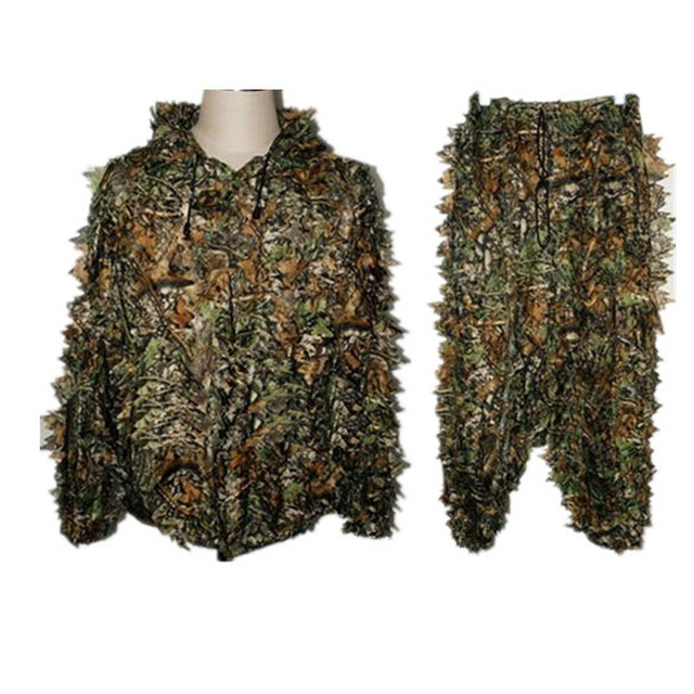 CS Go New Hunting clothes  3D Tactical Yowie sniper Camouflage Clothing airsoft Camouflage Clothing jacket and pants