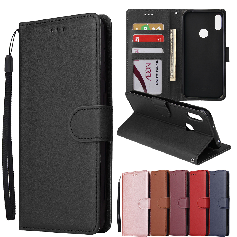 Huawei Honor 8A Case Honor 8A Cover Classic Wallet Flip Leather Cover On For Huawei Honor 8A Honor8A JAT-LX1 With Photo Frame
