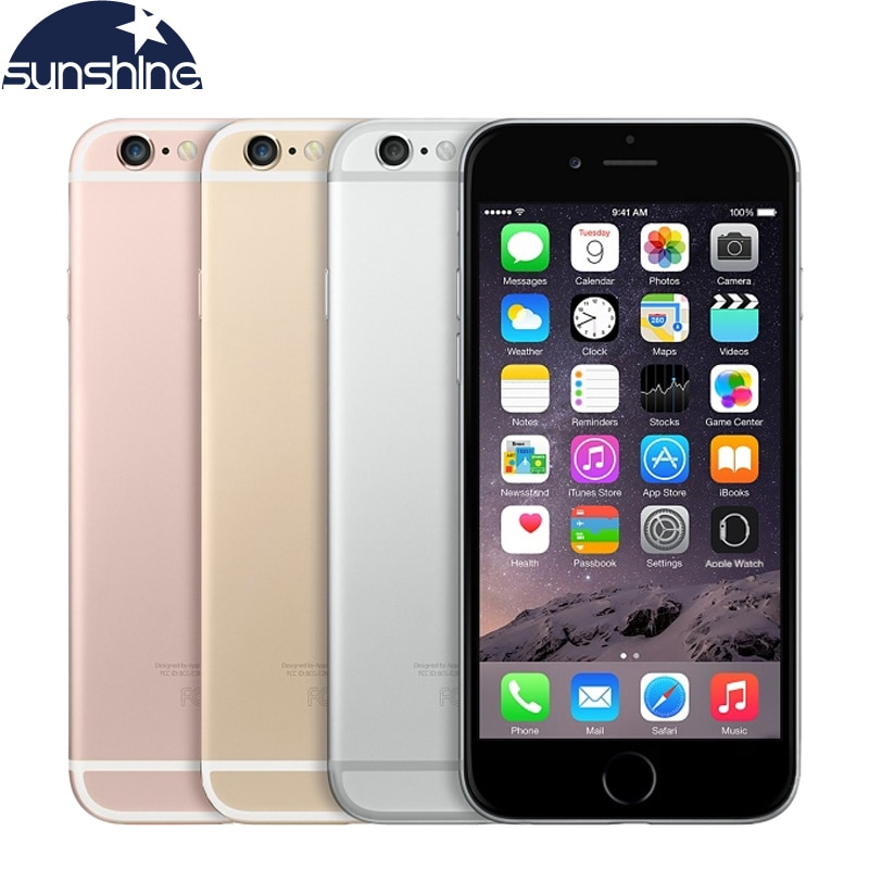 Original Desbloqueado Apple iPhone 4 6s G LTE Mobile phone 4.7 ''12.0MP 9 IOS Dual Core 2GB RAM 16/64GB ROM Smartphones