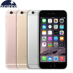 Original desbloqueado apple iphone 6s 4g lte telefone móvel 4.7 12.12.12.0mp ios 9 duplo núcleo 2 gb ram 16/64 gb rom smartphone