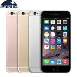 Original desbloqueado apple iphone 6s 4g lte telefone móvel 4.7 12.12.12.0mp ios 9 duplo núcleo 2 gb ram 16/64 gb rom smartphone
