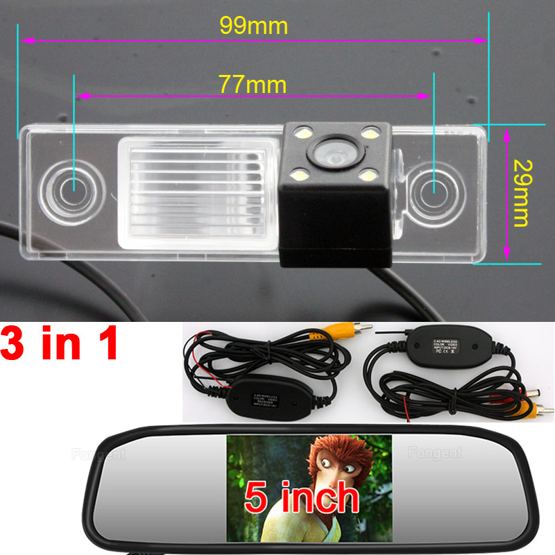 wired wireless Car Rear View Reverse Parking Camera with LEDS for sony CHEVROLET EPICA LOVA AVEO CAPTIVA CRUZE LACETTI HRV Spark