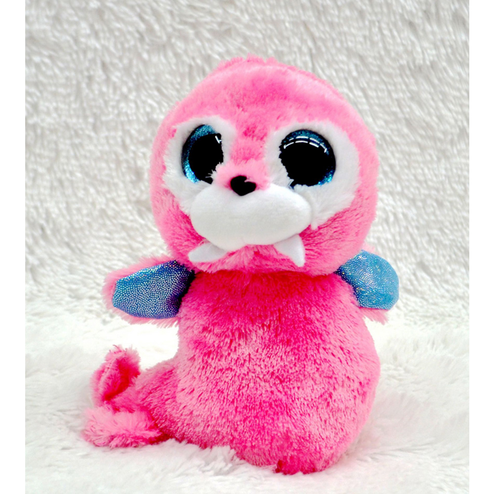 1pcs Beanie Boos Plush Toys Beanie Babies Camouflage Owl Pink Dolphin Turtle Penguin Green Dragon Stuffed Animals Soft Baby Doll