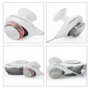Mini 3in1 40K Ultrasonic Cavitation Photon Red LED Body Shaper Fat Tighten Slim Firm Skin Tone Fitness Machine Loss Weight