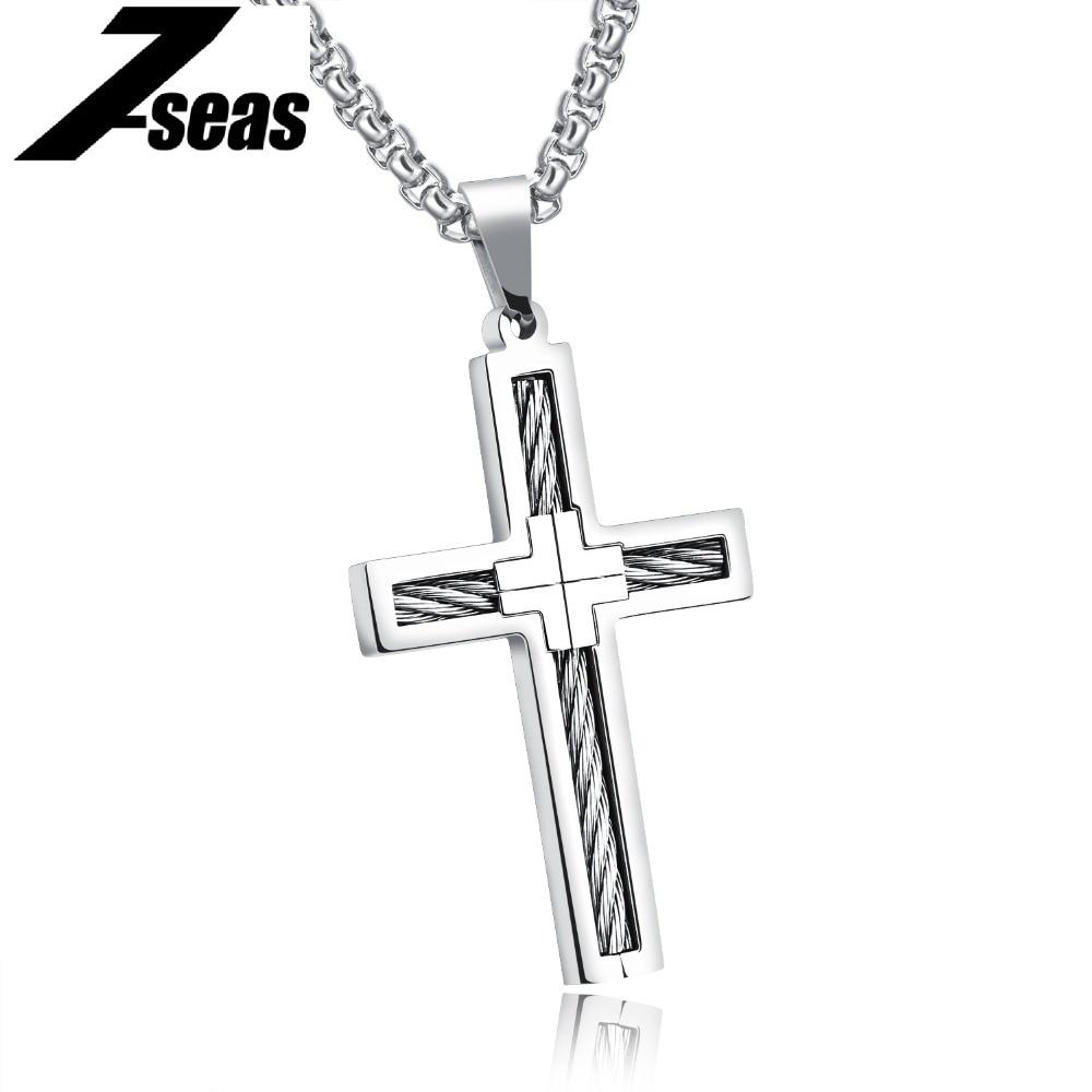 Aliexpress.com : Buy 7SEAS 4 Colors Lucky Cross Men