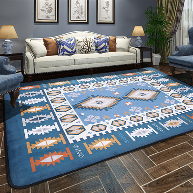 AOVOLL American Mediterranean Style Carpets For Living Room Childrens Rugs For Room Carpet Bedroom Modern Living Room CarpetAOVOLL American Mediterranean Style Carpets For Living Room Childrens Rugs For Room Carpet Bedroom Modern Living Room Carpet