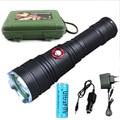 Led фонари факел США CREE XM-L2 3800 Люмен 5 режим Аккумуляторная высокое качество Тактический Фонарик Для Наружного Освещения