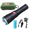 Led flashlights  torch USA CREE XM-L2 3800 Lumens 5 mode Rechargeable high quality Flashlight Tactical For Outdoor Lighting