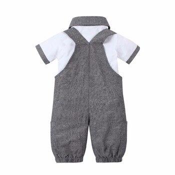 Pakaian Musim Panas Baby Boy Set Lengan Pendek  3