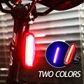 Luz trasera de bicicleta Led Usb recargable de montaña luz bici luz de bicicleta recargable lampe velo accesorios de bicicleta luz